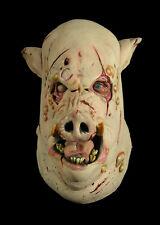 Swine Flu Butcher Pig Halloween Mask Not Don Post