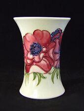 Moorcroft Anemone Pattern Vase - 1950's -  Made in England.