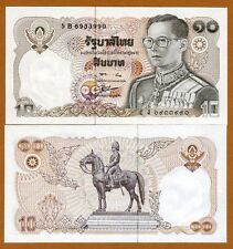 Thailand, 10 Baht, ND ( 1980), P-87, UNC > King Rama IX