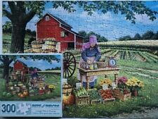 "THE FRUITS OF HER LABOR -300 LARGE PIECE PUZZLE - BITS & PIECES - SIZE 18"" X 24"""