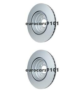 BMW X5 Hella-PAGID Rear Disc Brake Rotors (2) 355117762 34216793246
