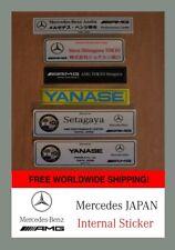 Mercedes AMG Japan Sticker AZABU Shinagawa decal Alte intern Aufkleber TOKYO