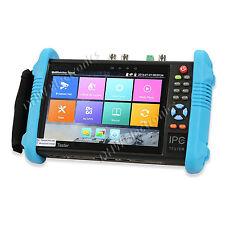 "IPC-9800ADHS PLUS 7"" 6 in 1 CCTV tester CVBS, AHD, TVI, CVI, SDI & IP cameras 4K"