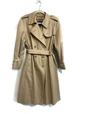 Burberry Vintage 80's Mac Trench Coat Possible Large