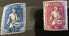 Ireland 1945 THOMAS DAVIS SG136/7 Fresh Mounted Mint