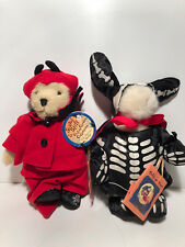 HOPPY & MUFFY VANDERBEAR ~ SCARED STIFF FOOLISH GHOULISH COLLECTION ~ 1 PAIR