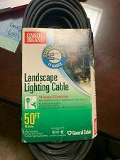 New Carol Landscape Lighting Cable 14 Gauge 50ft. Low Voltage 2 conductor