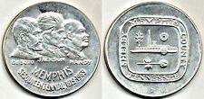 US Mint Medal: Memphis, Tenn Sesquicentennial - 1969: 90% Silver: 1st Striking