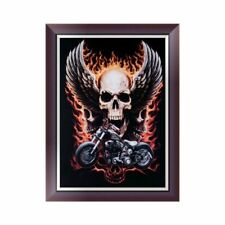 5D Diamond Embroidery Painting Skull Cross Stitch Home Decoration DIY