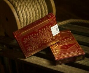 Monarchs Playing Cards Red Edition Gold Foil by Theory11 Monarch Poker Magic
