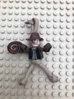 LEGO Indiana Jones PARACORD BUDDY keyring - HAND MADE IN UK