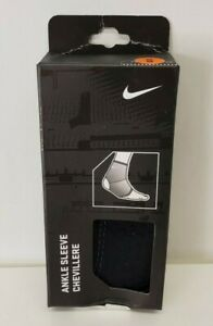 NIKE Ankle Sleeve Adult Unisex Lightweight Comfortable & Breathable Size M NEW