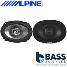 """Alpine SXE-6925S Car Stereo 6""""x9"""" Inch 560 Watts 2 Way Door Coaxial Speakers"""