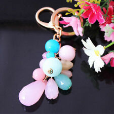 New Resin beads keychain Charm Pendent Purse Bag Key Chain Ring1