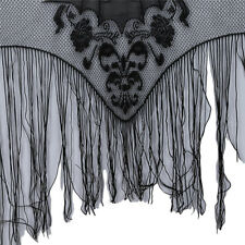 Halloween Lace Window Zombie Curtain Shading Spider Web Cobweb Curtain SW