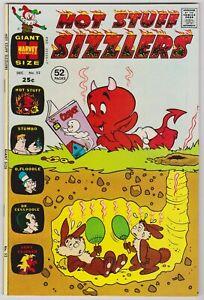 Hot Stuff Sizzlers #52  Beautiful Harvey Giant  File Copy Comic!  1972 NM+