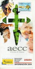España Medicina y Salud AECC Contra el Cáncer año 2004 (CU-943)