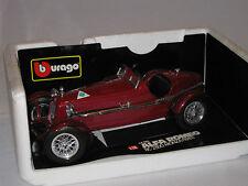 BURAGO 3014 1/18 ALFA ROMEO 8C 2300 MONZA -EXCELLENT BOXED CONDITION