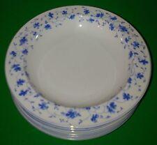 Arzberg Blaublüte 1382 *** 6 alte Suppenteller Ø 23,5 cm ***