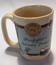 2000 Abbey Press Firefighter's Serenity Prayer Coffee Mug