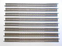 FLM PICCOLO 9100 gerades Gleis 222mm 8 Stück (50354)