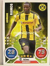 Match Attax 2016/17 Bundesliga - #090 Adrian Ramos - Borussia Dortmund