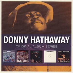 DONNY HATHAWAY - 5 CD - ORIGINAL ALBUM SERIES