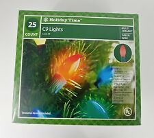 UL Holiday Time Tree Lights 25 Count C9 Lights