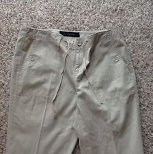 Calvin Klein String Waist Cropped Pants Size 8