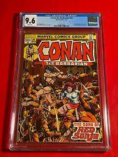CONAN THE BARBARIAN #24 CGC 9.6 NM+ 1ST FULL RED SONJA MARVEL COMICS 1973 LAST