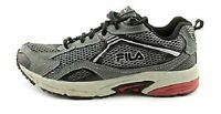 Men's FILA DLS WINDSHIFT 2 1HR050LZ Gray Athletic/Running Sneakers/Shoes NEW