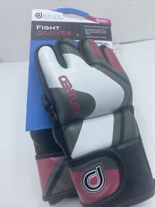 CENTURY DRIVE Pink/Black WOMENS PROFESSIONAL FIT FIGHT GLOVES L LARGE *NEW* MMA