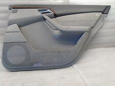 DK706258 00-06 MERCEDES S500 W220 REAR RIGHT SIDE INTERIOR DOOR PANEL GRAY OEM