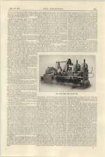 1925 Robertson Bedford Haute Vitesse de bande de laminoir