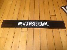 New Amsterdam Vodka Rubber Spill Mat / Bar Runner / Cocktail Barware,