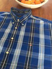 Gant Shirt 3xl Xxxl 29 Inch Pit To Pit Pinpoint Oxford