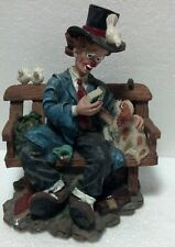 """'99 Young Clown Classics #34003 """"Pokey & Friend"""" 6"""" tall x 4 1/2"""" wide repaired"""