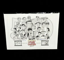 The Andy Griffith Show 50th Anniversary Sketch George Murray Signed Numbered COA