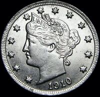 1910 Liberty V Nickel  ---- Gem BU++ STUNNING   ---- #D891