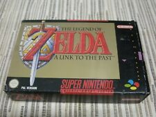 NINTENDO SUPER NINTENDO SNES THE LEGEND OF ZELDA A LINK TO THE PAST PAL ESPAÑA