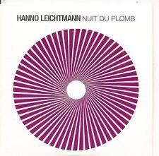 Hanno Leichtmann - Nuit Du Plomb PROMO CD ALB ambient*