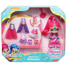 Fisher Price Shimmer & Shine Magic Dress Shimmer Click on Fashions DGL78 NEW!