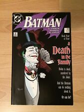 Batman Comic Book #429 Death In The Family Robin Joker High Grade Key Issue!