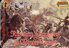 Strelets 1/72 Napoleonic Russian Dragoons in Winter Dress # 067