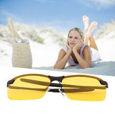 Yellow HD Night Vision Polarized Glasses UV400 Driving Sunglasses Eyewear AX