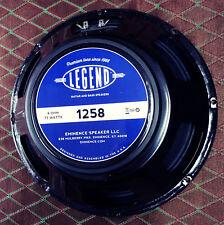 """Eminence Legend 1258 12"""" Guitar Speaker - 8 ohm - 75 Watt"""