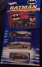 Hot Wheels Batman Guide Three Car Set Batman Joker Bane Bat Man