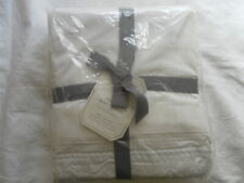 New Auth Pottery Barn Monique Thuillies Duvet Cover King Cal King White 108X92In