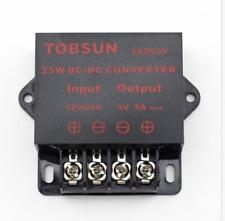 DC12V-24V to 5A Converter Regulator Step Down Transformer Power Supply