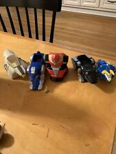 McDonalds Mighty Morphin Power Rangers Toy  Set Lot Of 5 Zord - VTG  p83